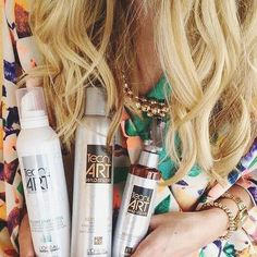 Once you find hair products you love, hold on to them for dear life and never let them go! @salondrew definitely knows what we're talking about! #Regram #CurateBeauty #TecniArt