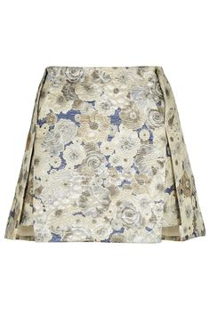 Floral Jacquard Origami Skirt