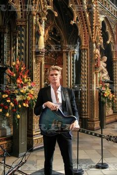 Commonwealth Day Observance service, Westminster Abbey, London, UK - 13 Mar 2017  Cody Simpson performs in the Nave at Westminster Abbey  13 Mar 2017