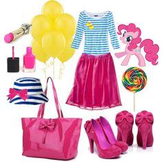 """Pinkie Pie!""  Pinkie Pie inspired everyday wear!"