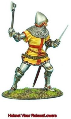 Hundred Years War * Jean De Hangest at Agincourt 1415 * Made by First Legion Military Miniatures and Models.