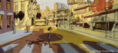 Concept Art For Big Hero 6's San Fransokyo Is Absolutely Charming
