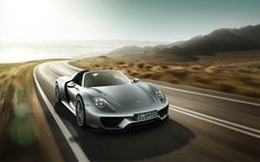 There aren't that many manufacturers which produce high-performing cars, selling in droves. They have announced their new hypercar for 2015 Porsche 918 Hybrid and it will be Spyder with hybrid powertrain. Sexy Cars, Hot Cars, Porsche 918 Hybrid, My Dream Car, Dream Cars, Good Looking Cars, New Porsche, Car Images, Car In The World