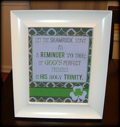 free printable- Christian St. Patricks Day