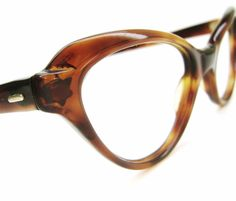 1950s Rockabilly Cat eye Glasses Eyeglasses by Vintage50sEyewear, $69.00