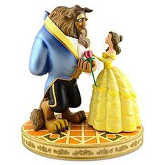 When I get a house and collect stuff to put on shelves it will be beauty and the beast stuff.