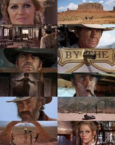 C'era una volta il west (My favorite western film.) Sergio Leone is great and extremely inventive director.