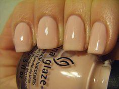 No Nekkid Nails - China Glaze Diva Bride