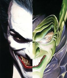 alexhchung:  Joker & Green Goblin by Alex Ross