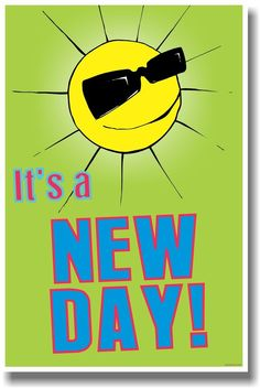 It's a New Day! - NEW Classroom Motivational Poster Education Quotes For Teachers, Quotes For Students, Quotes For Kids, Classroom Motivational Posters, Classroom Posters, Motivational Quotes, Phonemic Awareness Kindergarten, New Classroom, Classroom Ideas