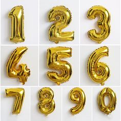 40Inch Gold Silver Number Digit Foil Balloons Inflatable Helium Balloons Kids Toy Wedding Birthday Party Air Balloons Decoration #>=#>=#>=#>=#> Click on the pin to check out discount price, color, size, shipping, etc. Save and like it!