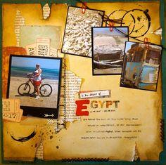 in the desert of Egypt - Scrapbook.com