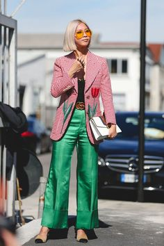 Milan Fashion Week Street Style Is 90% Gucci+#refinery29