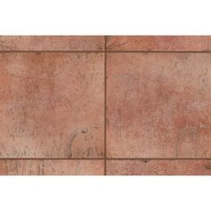 "Mohawk Flooring Quarry Stone 12"" x 3"" Bullnose Tile Trim in Terra"