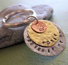 Custom Dog ID Tag. Personalized Pet Name Collar by ArtisanPetTags, $15.00