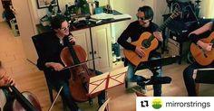 #Repost @mirrorstrings (@get_repost)   #followthelime #mirrorstrings #hamburg #ensemble #classicalmusic #classicalguitar #cello #musicians #music #introduction #people #art #creative #holberg #grieg #quartet  #guitar #cd #unplugged #twoguitars #feat #twocellos #violoncello #newsound #optimastrings #earslovemusic #timezone #sunglasses