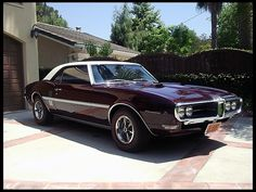1968 Pontiac Formula 400 HP, Automatic for sale by Mecum Auction Pontiac Firebird, Pontiac Gto, Chevrolet Camaro, Modern Muscle Cars, American Muscle Cars, Classic Hot Rod, Classic Cars, Cool Old Cars, Nice Cars