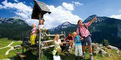 Aktivurlaub-Berge Familienurlaub Familie Wandern | Reisehummel.de