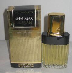 Shalimar Eau De Toilette By Guerlain Shalimar Guerlain, Guerlain Paris, Vintage Perfume, Cologne, Vintage Shops, Coffee Maker, Perfume Bottles, Beauty, Fragrance