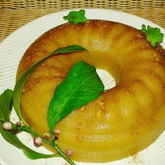 Halvas with lemon and mastiha