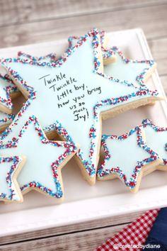 Twinkle Sprinkle Cake Decoration Edible Marker : Celestial Twinkle Twinkle Little Star Themed Baby Shower ...