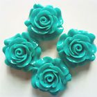 W81a Mobile Beauty 4Pcs blue rose DIY Cell Phone iPhone4 5/6S Case