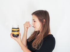 Mit Vernügen | BACKVERGNÜGEN #17 – Kürbisdessert im Glas | Schokolade, Kürbiscreme und Kokossahne.