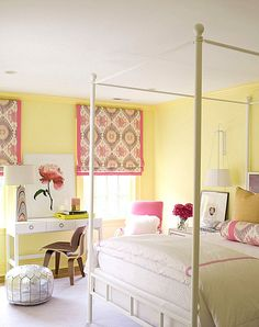 Decorating Ideas for Yellow Bedrooms | Pinterest | Traditional ...