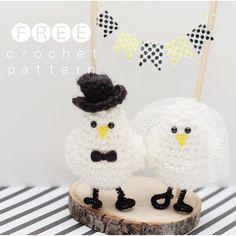 In Karapoozville: Love Birds FREE crochet pattern