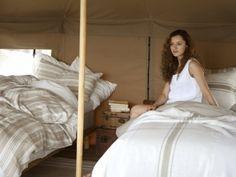 Reinleinen Bettwäsche Kalahari von Libeco