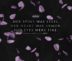 """Her spine was steel. Her heart was armor. Her eyes were fire.""  Quote Candy Wallpaper for AND I DARKEN by Kiersten White // Download at http://www.iceybooks.com/blog/2016/08/quote-candy-54-download-a-wallpaper-for-and-i-darken-by-kiersten-white.html!"