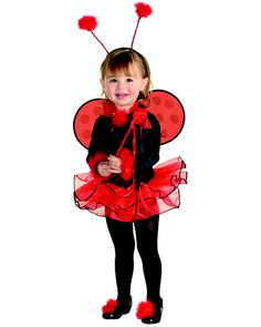 Cute Lady Bug Costume for Toddler Your child will look so adorable in this outfit you won't be able to take enough pictures to record the fond memories you'll have. Quick N Easy Halloween Costumes, Butterfly Halloween Costume, Ladybug Costume, Easy Halloween Decorations, Halloween Costume Accessories, Halloween Dress, Halloween Costumes For Kids, Halloween Makeup, Happy Halloween