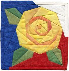 Image result for rose quilt pinterest