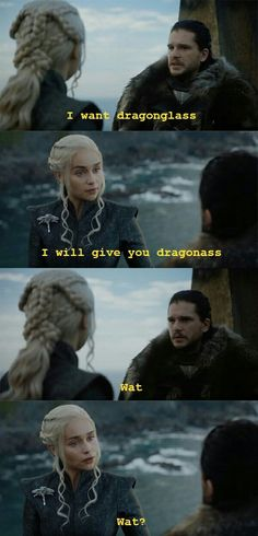 I shall have her dragon ass!