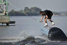 Wakeboarding. Russia, Dubna. Dubna wake-park. Vertigo cableway vertigosports.ru