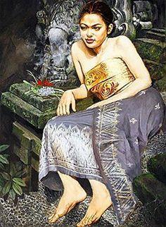 Impressioni Artistiche : ~ Josephine Linggar ~ Indonesian Art, Dutch Painters, Art Auction, Chinese Art, Figurative Art, Traditional Art, Asian Art, New Art, Art Gallery