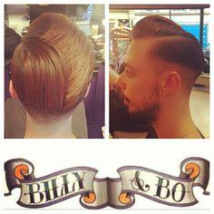 Pompadour Hair by Vas Pompadour Fade Haircut, Mens Hairstyles Pompadour, Taper Fade Haircut, Undercut Pompadour, Undercut Hairstyles, Hairstyles Haircuts, Men's Hairstyle, Men Undercut, Wedding Hairstyles