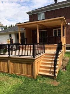 18 Trendy Covered Patio Ideas On A Budget Decks Backyard Landscaping Backyard Patio Designs, Pergola Patio, Pergola Plans, Backyard Landscaping, Pergola Kits, Pergola Ideas, Modern Pergola, Deck Plans, Landscaping Ideas