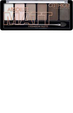 Lidschatten Absolute Matt Eyeshadow Palette Eyes Wide Matt 010 - vegan