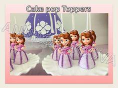 Printable Disney Sofia the first PRINCESS Cupcake by ANNILORACK