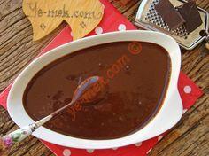 Ev Yapımı Çikolata Sosu Resimli Tarifi - Yemek Tarifleri