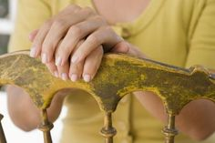 How to Get That Grubby Texture on Primitive Furniture