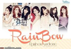 Kpop girl group Rainbow's first studio album, Rainbow Syndrome.