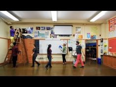Remaking your classroom--some ideas for better movement and interaction