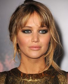 Jennifer Lawrence Hooded Eyes Perfect Makeup
