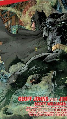 Batman by Jim Lee #new52 #justiceleague