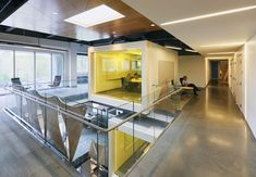 Still pretty enamored by the idea of glass meeting rooms