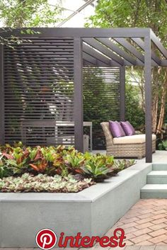 - Pergola DIY Bamboo - Pergola Designs Steel, - DIY Bamboo Pergola - Steel Pergola Designs While ancient inside notion, a pergola have been going through somewhat of a contemporary rebirth all these days. Garden Design, Pergola Designs, Back Gardens, Garden Beds