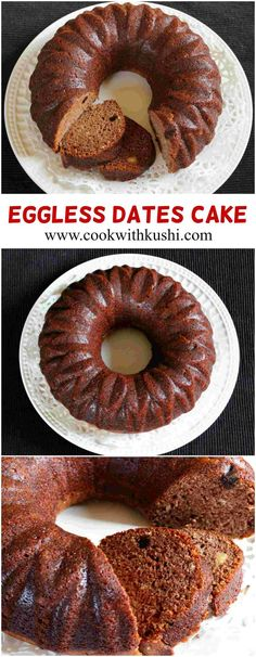 Eggless Dates Cake is a super delicious, soft and moist cake that is perfect tea time snack and is worth try. The nutty flavor of dates with almonds, raisins and cashews is just amazing. This is one cake recipe that I prepare more often.  #eggless #vegam #cake #dryfruit #dates #bread #holiday #Nuts #Bhgfood #Buzzfeedfood #Feedfeed #recipe