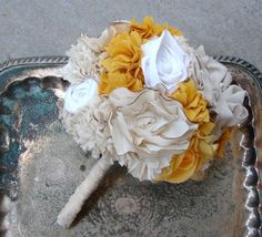@Megan Reich...thoughts on a fabric bouquet?